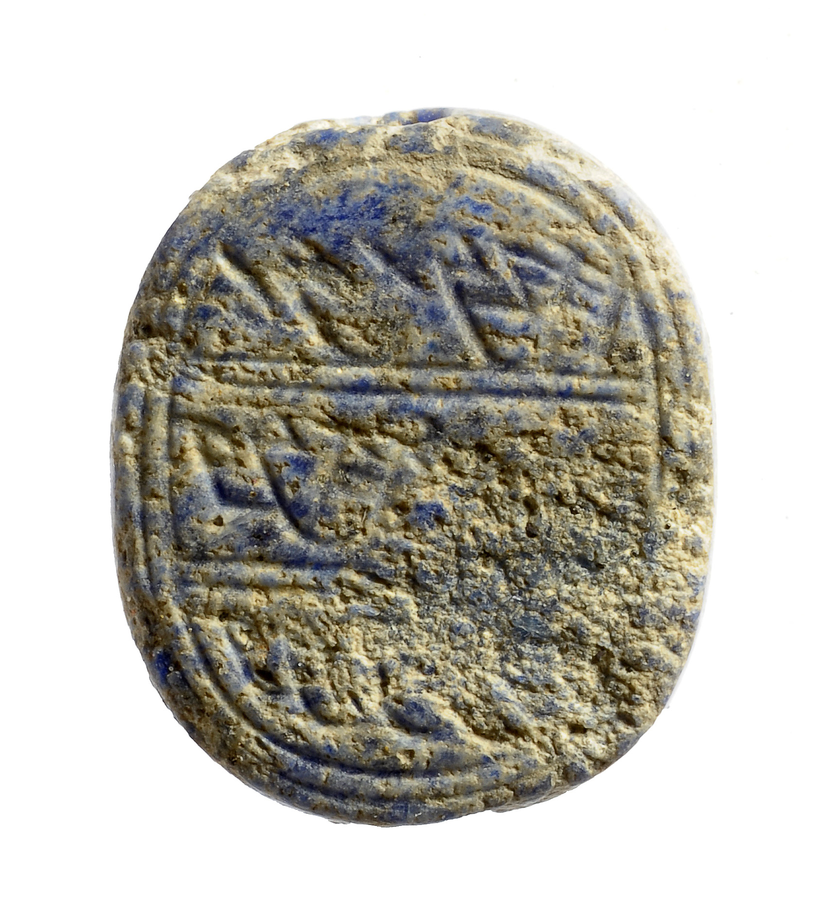 "Clay seal from 8th century BCE with name ""Netanyahu"" in ancient Hebrew writing.  Photo: Israel Antiquities Authority"