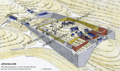 The Temple Mount in the Herodian period (37 BC-70 AD ...