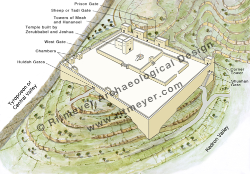 the temple mount during the times of ezra and nehemiah ritmeyer