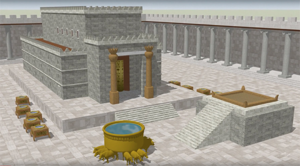 3D model of Solomon's Temple – Ritmeyer Archaeological Design