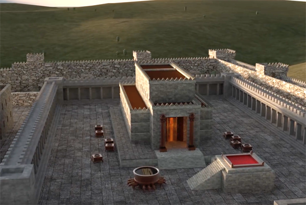 3D model of Solomon's Temple.