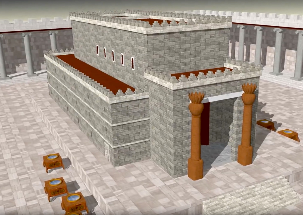 3D model: Solomon's Temple Explained