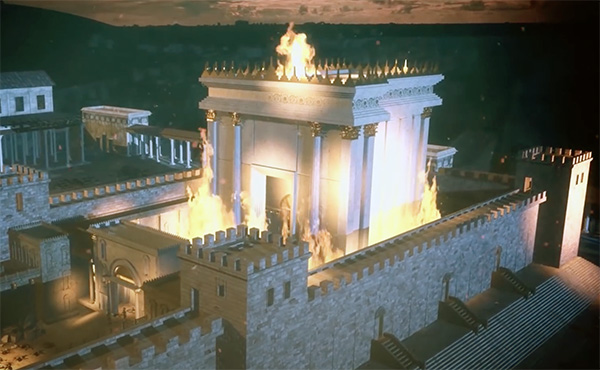 The Roman destruction of Jerusalem and the Temple in 70 AD