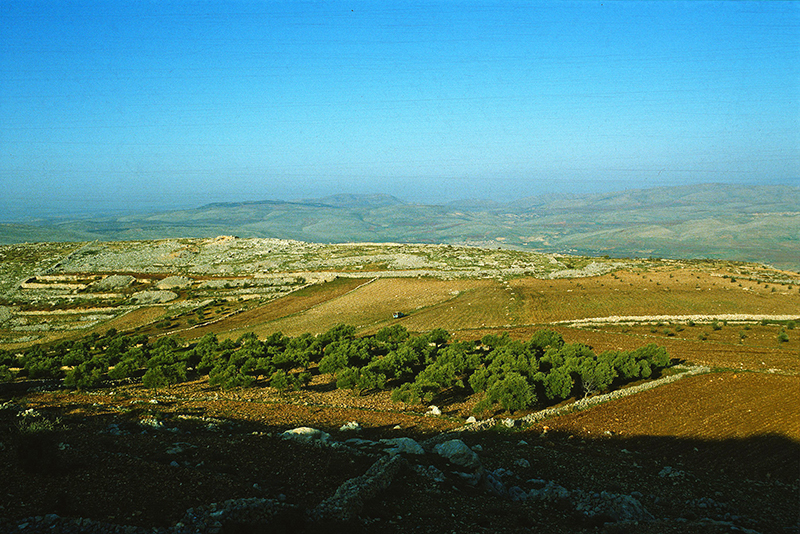 The destruction of the site of Joshua's altar on Mount Ebal